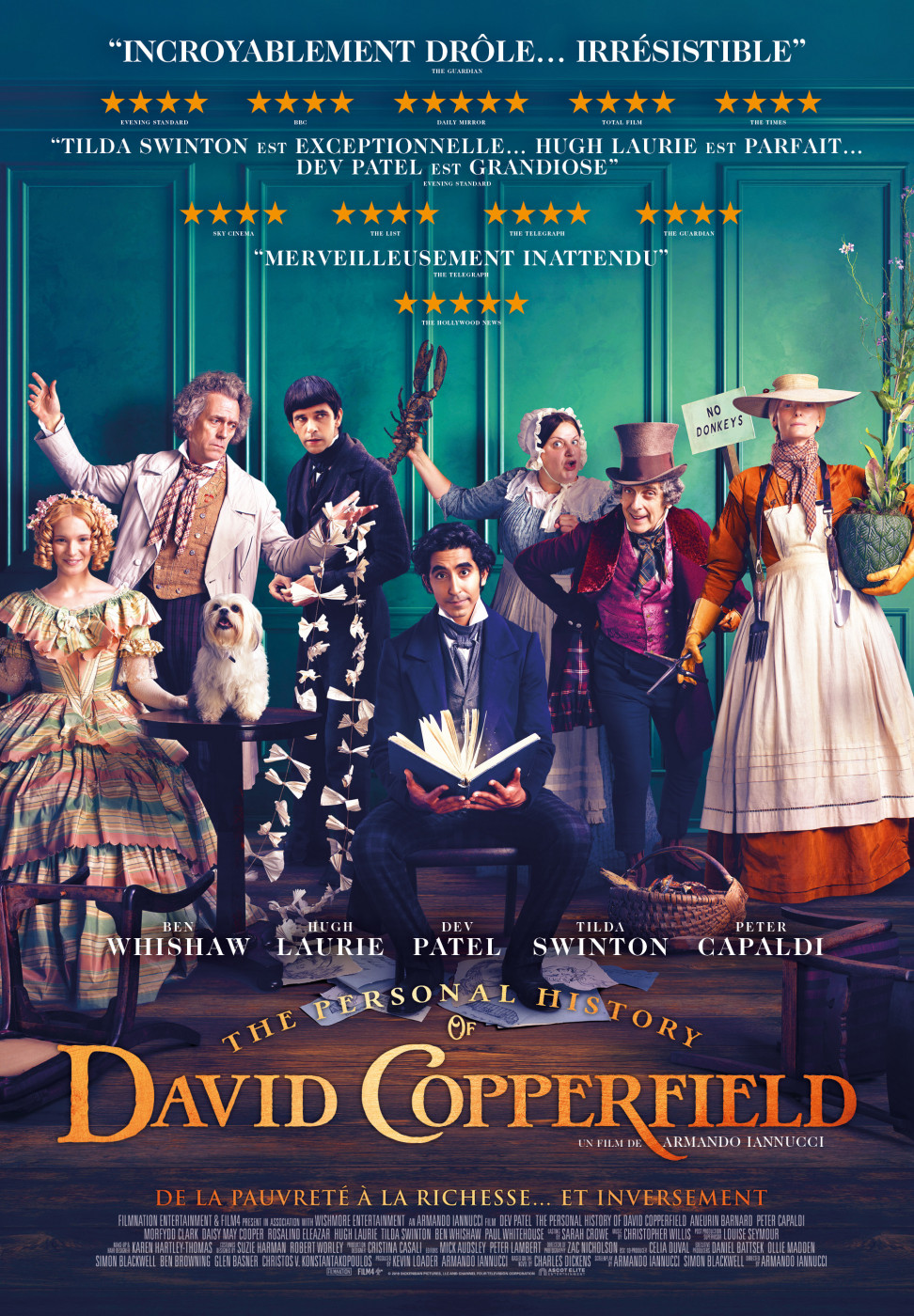 Aff Distr Personal History of David Copperfield moyenne